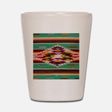 Southwest Weaving Shot Glass