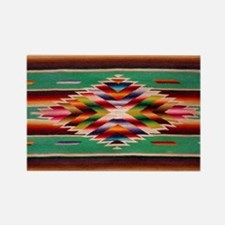 Southwest Weaving Rectangle Magnet