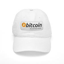 BitCoin Accepted Here Baseball Cap