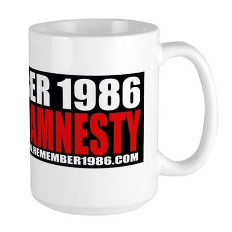 REMEMBER 1986 - STOP THE LIES Large Mug