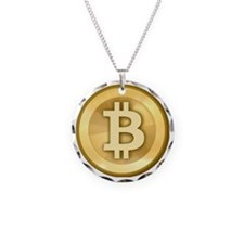 BitCoin Gold Necklace