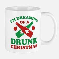 I'm Dreaming Of A Drunk Christmas Small Small Mug