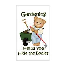 Garden Tips #2 Rectangle Decal