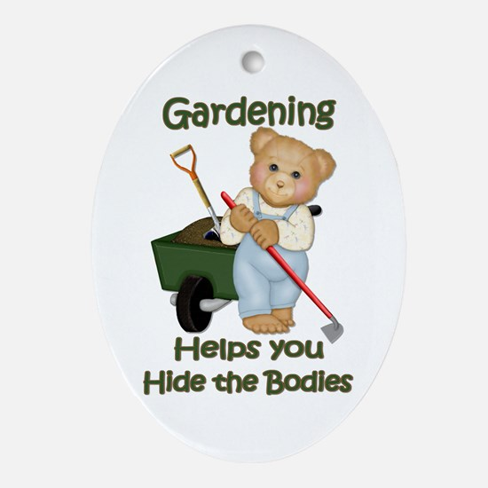 Garden Tips #2 Oval Ornament
