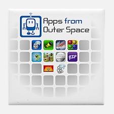 AFOS Logo and Apps Tile Coaster