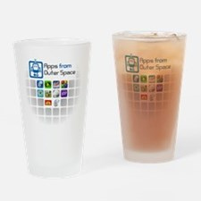 AFOS Logo and Apps Drinking Glass