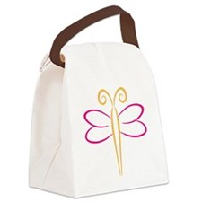 Schmetterling Canvas Lunch Bag