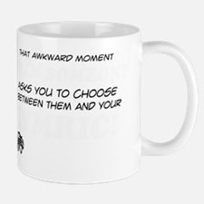 Funny gifts for the Cymric Cat lover Mug