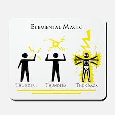 Elemental Magic - Thundaga Mousepad