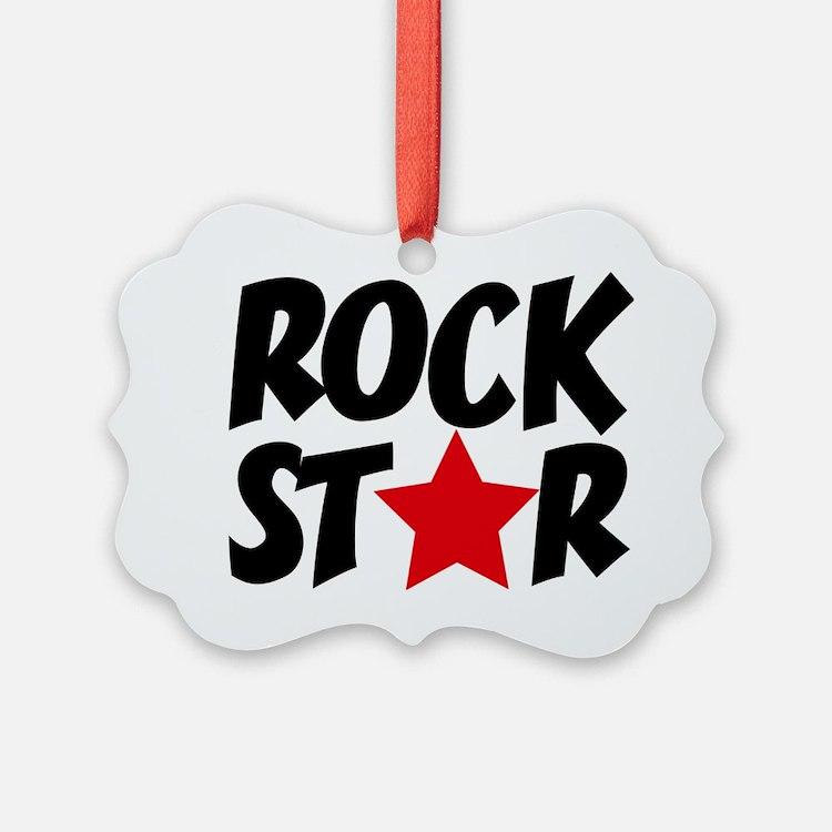 Rockstar Ornament