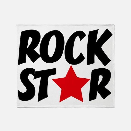 Rockstar Throw Blanket
