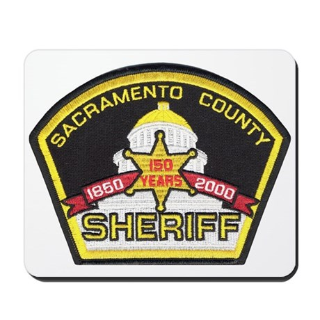 Sacramento County Sheriff Mousepad