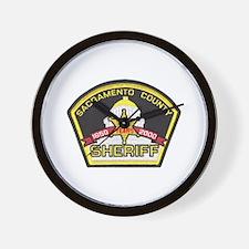 Sacramento County Sheriff Wall Clock