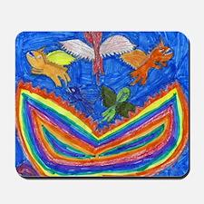 Dragon Rainbow Mousepad