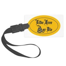 Live Free or Die Luggage Tag