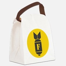 F Bomb Canvas Lunch Bag