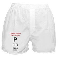 Cardiology Eyechart Boxer Shorts