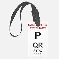 Cardiology Eyechart Luggage Tag