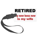 Retirement Luggage Tags