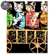 Wagon full of cats Puzzle