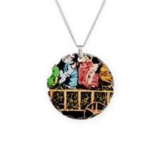 Wagon full of cats Necklace