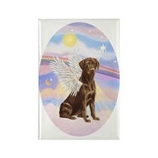 ORN-Oval-Clouds-ChocLAB angel Rectangle Magnet