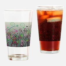 Cool Swirl Pattern 3g Drinking Glass