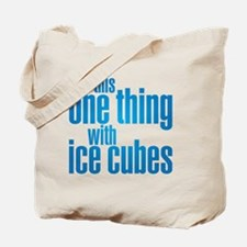 ice cubes Tote Bag