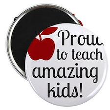 Proud Teacher Magnet