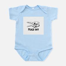 PEACE OUT! Infant Bodysuit