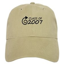 Class of 2007 swirl Baseball Cap