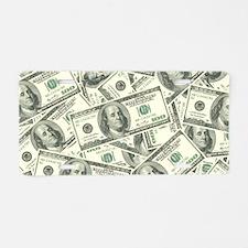 100 Dollar Bill Money Patte Aluminum License Plate