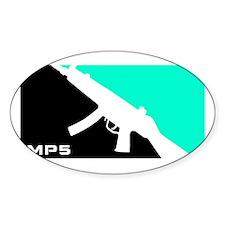 MP5 Shirt - 9mm Firearms Apparel Stickers