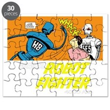 Magnus Robot Fighter Puzzle