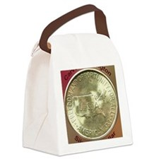 Carver/Washington Half Dollar Coi Canvas Lunch Bag