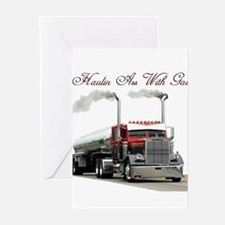 Haulin Ass With Gas Greeting Cards (Pk of 10)