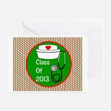 nurse ornament class of 13 Greeting Card