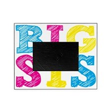 Multi-Colored Big Sis Picture Frame