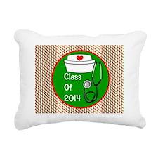 nurse ornament class of  Rectangular Canvas Pillow