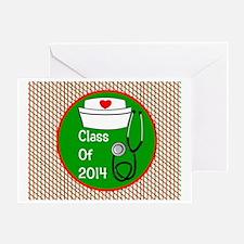 nurse ornament class of 15 Greeting Card