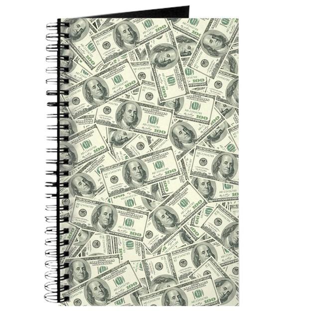 100 Dollar Bill Money Pattern Journal By Admin Cp3269