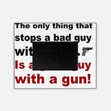 Good Guy with a gun Picture Frame