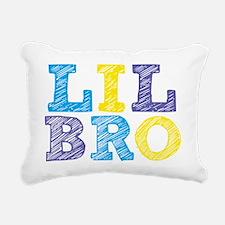 Sketch Lil Bro Rectangular Canvas Pillow