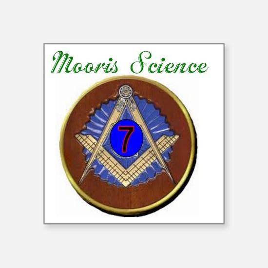 "Mo Sense Series Square Sticker 3"" x 3"""