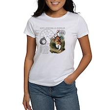The White Rabbit Alice in Wonderla Tee