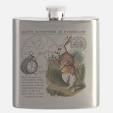 The White Rabbit Alice in Wonderland Mousepa Flask