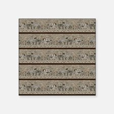 "African Animals Square Sticker 3"" x 3"""