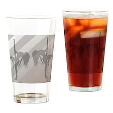 Stripper Duo - Gray Drinking Glass
