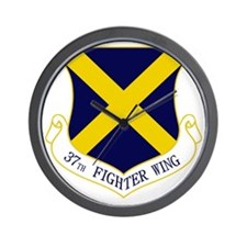 37th Fighter Wing Wall Clock
