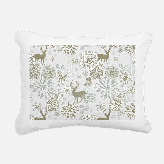 Deer Rectangular Canvas Pillow